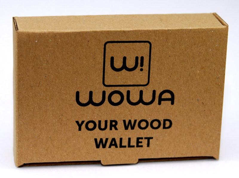 WOWA gift box for WOWA wood wallets, product photo