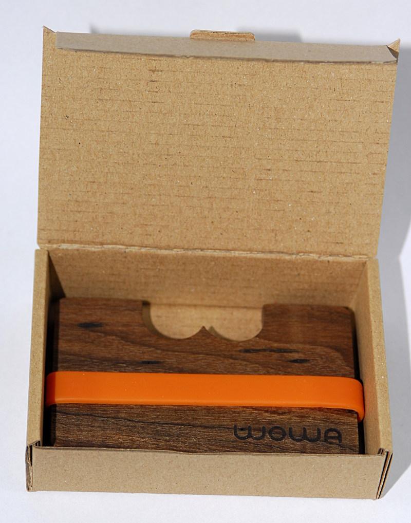 WOWA gift box for WOWA wood wallets, product photo 1