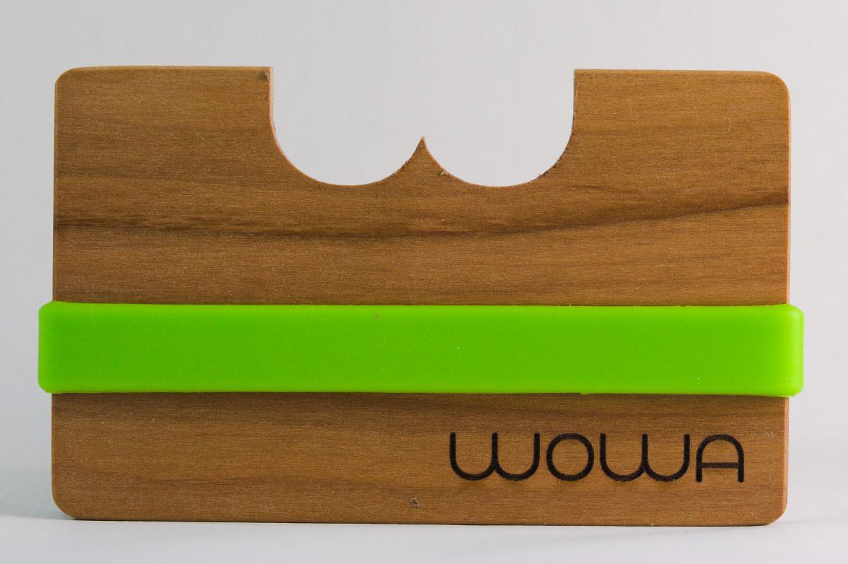 WOWA Bretagne Apple wood wallet, product photo