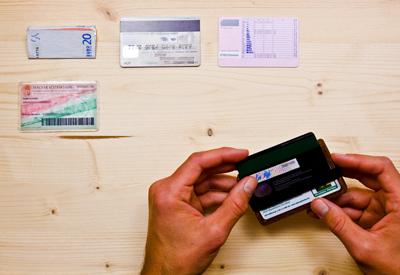 Paypass payment, Wowa wood wallet